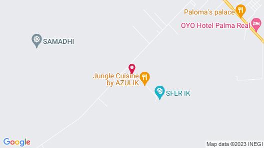 Mayur Tulum Map