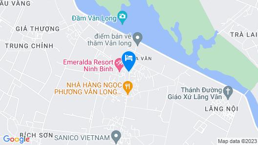 Emeralda Resort Ninh Binh Map