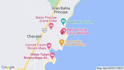 Bahia Principe Vacation Rentals - Four-Bedroom House Map