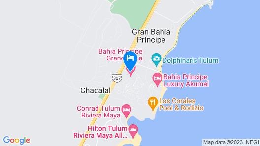 Bahia Principe Luxury Sian Ka'an - Adults Only - All Inclusive Map
