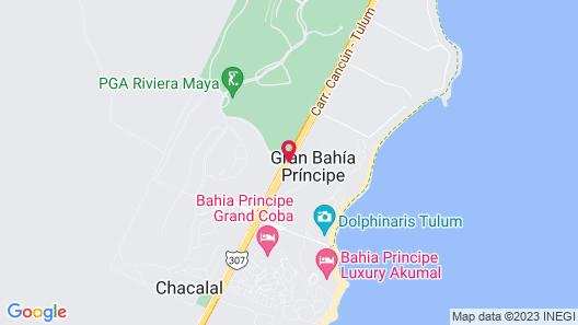 Bahia Principe Vacation Rentals - Quetzal Two-Bedroom Apts Map