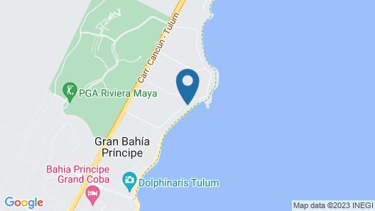 Sunscape Akumal Beach Resorts & Spa - All Inclusive Map