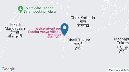 WelcomHeritage Tadoba Vanya Villas Resort & Spa Map