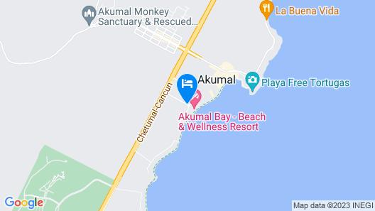 Akumal Bay Beach & Wellness Resort - All Inclusive Map