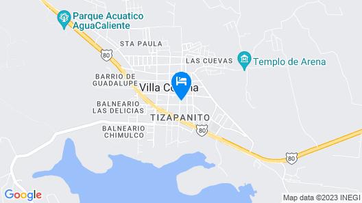 Hotel Cañada's Map