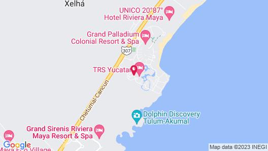 Grand Palladium White Sand Resort & Spa All Inclusive Map