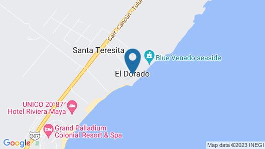 El Dorado Seaside Suites, Gourmet All Inclusive by Karisma Map