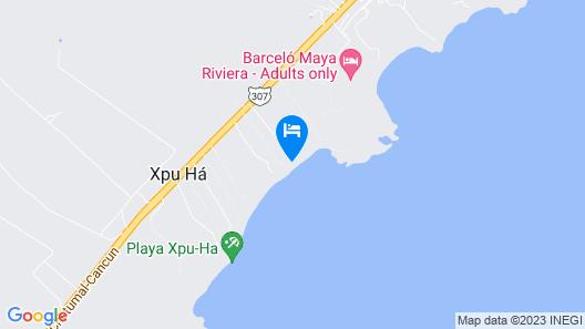 Hotel Esencia Map