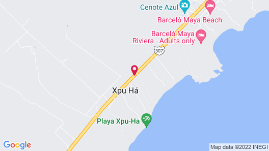 Catalonia Royal Tulum - Adults Only All Inclusive Map