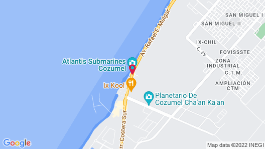 Grand Park Royal Cozumel - All Inclusive Map