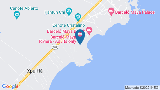 Barceló Maya Riviera - Adults Only - All Inclusive Map