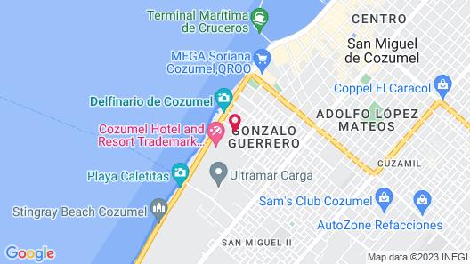 Villas El Encanto Map