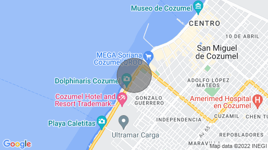Luxury Penthouse with Incredible Ocean View and Sunsets! - Cantil PHCN Map