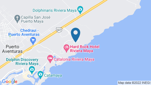 Hard Rock Hotel Riviera Maya - All Inclusive Map