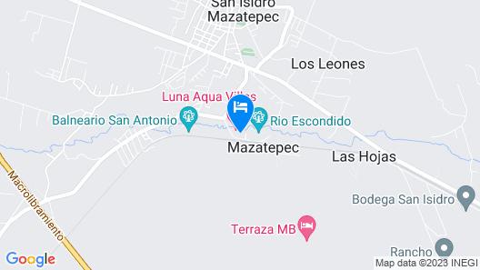 Collection O Luna Aqua Villas Map