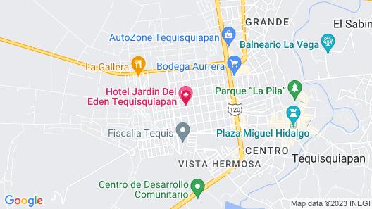 El Jardin Del Edén Map