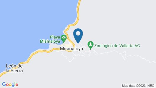 Hotel Casa Iguana Mismaloya Map