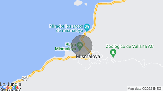 Beautiful Mismaloya Beach-front Condo Map