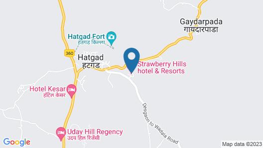 Strawberry Hills Saputara Map