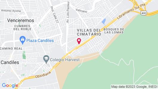 Motel Real de Queretaro Map