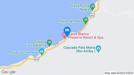 Garza Blanca Residences All Inclusive Map