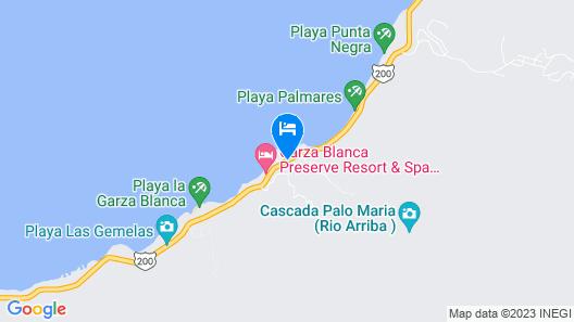 Hotel Mousai Puerto Vallarta Map