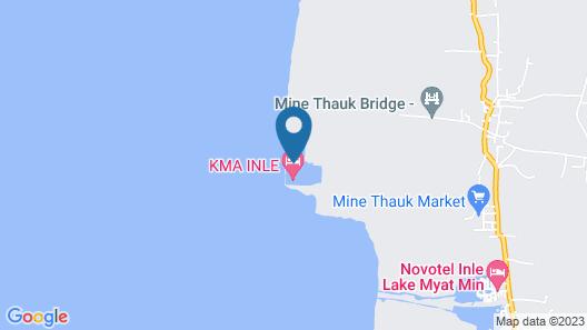 Skylake Inle Resort Map