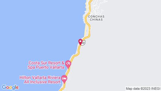 Casa de Las Palapas Private Estate Map