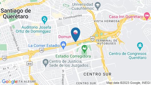 Domun Hotel Map