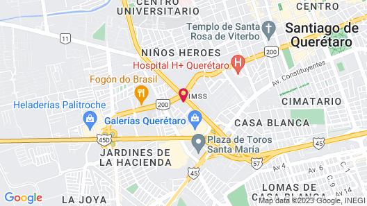 Plaza Camelinas Hotel Map