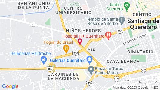 Fiesta Inn Queretaro Map