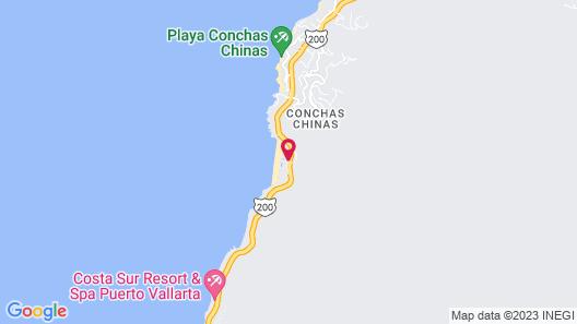 Hyatt Ziva Puerto Vallarta - All Inclusive Map