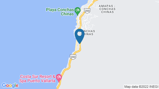 Hyatt Ziva Puerto Vallarta - All Inclusive Map