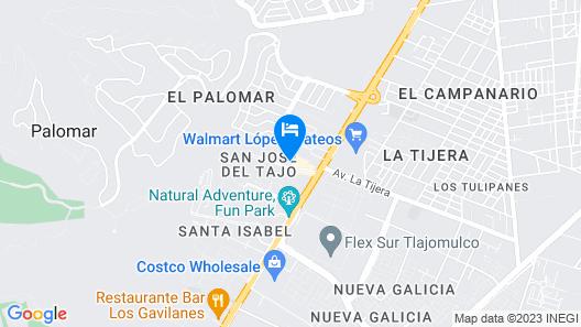 Ramada Encore Guadalajara Map