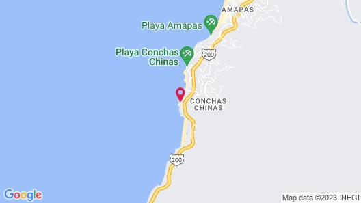 Garza Blanca Preserve Resort & Spa Map