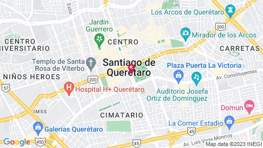 Hotel Real Alameda Map