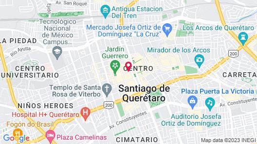 Hotel Hidalgo Map