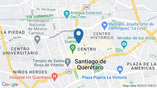 Casona de la Republica Hotel Boutique & SPA Map