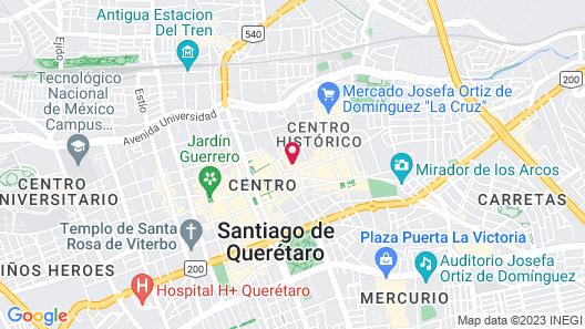 Hotel Criol Map