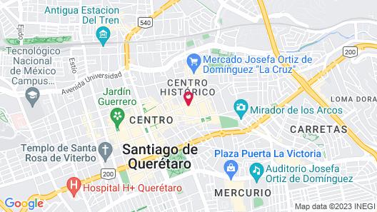 Doña Urraca Hotel & Spa Map