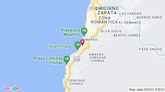 Vallarta Shores Beach Hotel Map