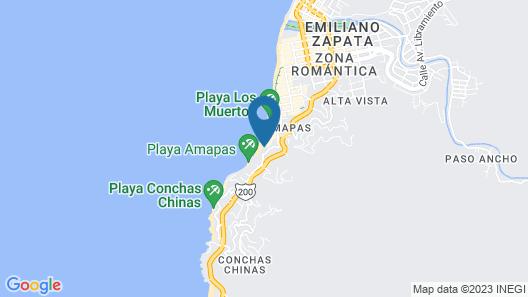 Vallarta Shores Beach Hotel Map