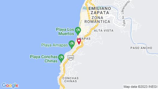 Almar Resort Luxury LGBT Beach Front Experience Map