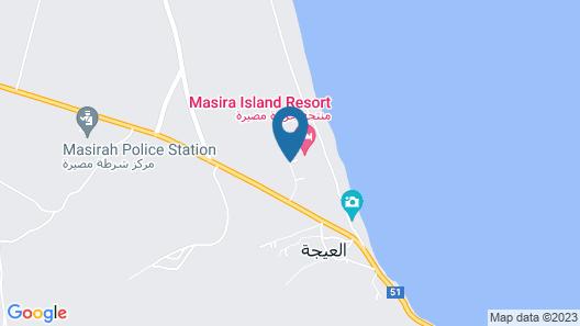 Masira Island Resort Map