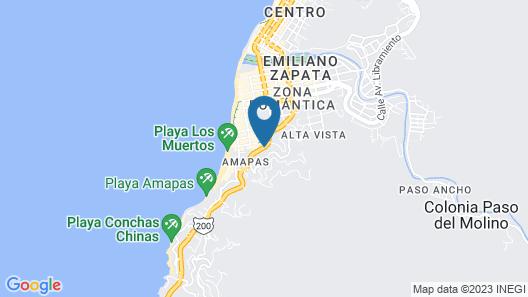 Casa Anita & Corona del Mar Map