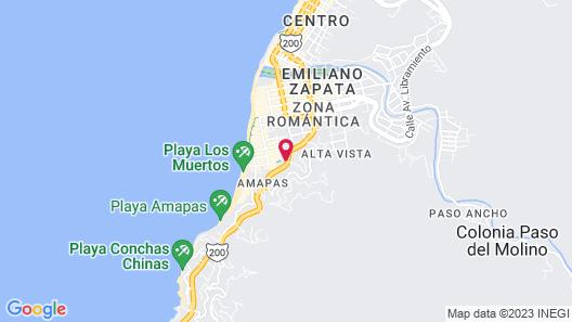 Condominio de la Brisas Map