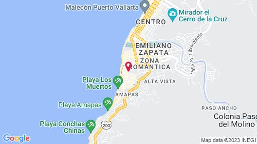 Los Arcos Suites Map