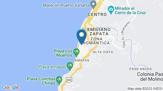 Playa Los Arcos Hotel Beach Resort & Spa Map