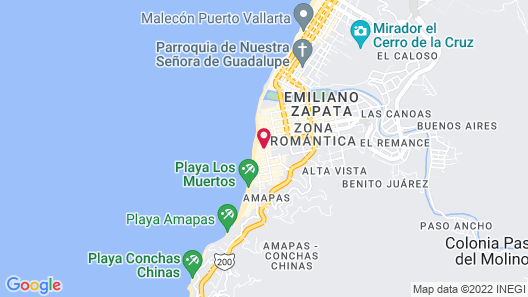 Playa Los Arcos - Resort & Spa All Inclusive Map