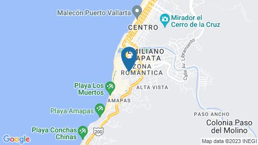 Hotel Posada de Roger Map